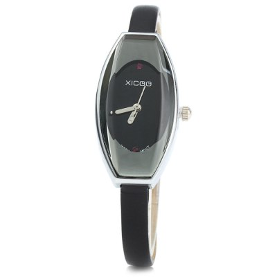 XICOO 456 Long Leather Band Quartz Watch for WomenWomens Watches<br>XICOO 456 Long Leather Band Quartz Watch for Women<br><br>Brand: Xicoo<br>Watches categories: Female table<br>Available color: Black, White, Red, Brown<br>Style: Fashion&amp;Casual, Bracelet<br>Movement type: Quartz watch<br>Shape of the dial: Elliptical<br>Display type: Analog<br>Case material: Stainless steel<br>Band material: Leather<br>Clasp type: Pin buckle<br>The dial thickness: 0.8 cm / 0.31 inches<br>The dial diameter: 1.8 cm / 0.71 inches<br>The band width: 0.6 cm / 0.24 inches<br>Product weight: 0.018 kg<br>Package weight: 0.068 kg<br>Product size (L x W x H) : 40 x 1.8 x 0.8 cm / 15.72 x 0.71 x 0.31 inches<br>Package size (L x W x H): 41 x 2.8 x 1.8 cm / 16.11 x 1.10 x 0.71 inches<br>Package contents: 1 x XICOO 456 Watch