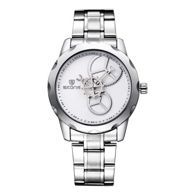SINOBI 2729 Men Japan Quartz Watch Gear DesignMens Watches<br>SINOBI 2729 Men Japan Quartz Watch Gear Design<br><br>Brand: Sinobi<br>Watches categories: Male table<br>Watch style: Business<br>Available color: Black, White<br>Movement type: Quartz watch<br>Shape of the dial: Round<br>Display type: Analog<br>Case material: Alloy<br>Band material: Alloys<br>Clasp type: Folding clasp with safety<br>The dial thickness: 1.0 cm / 0.39 inches<br>The dial diameter: 4.0 cm / 1.57 inches<br>The band width: 1.8 cm / 0.71inches<br>Product weight: 0.092 kg<br>Package weight: 0.122 kg<br>Product size (L x W x H): 23.5 x 4 x 1 cm / 9.24 x 1.57 x 0.39 inches<br>Package size (L x W x H): 24.5 x 5 x 2 cm / 9.63 x 1.97 x 0.79 inches<br>Package contents: 1 x SINOBI 2729 Watch