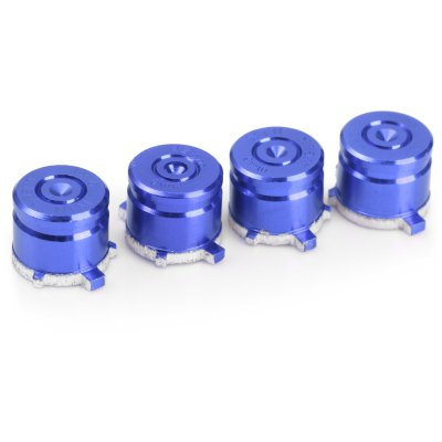 4PCS 9mm Metal Bullet Button for PS4 Gamepad