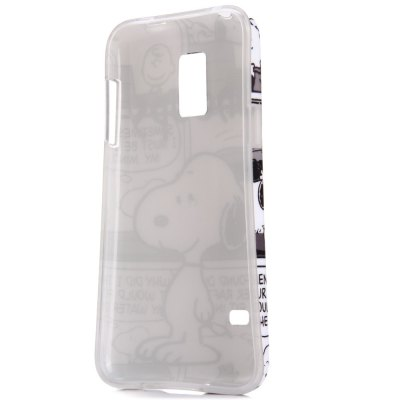 ФОТО Snoopy Pattern Protective Back Case for Samsung S5