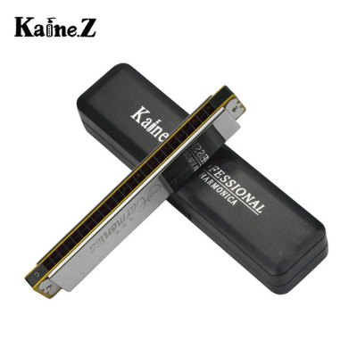 Kaine.Z K2401 24 Hole Tremolo Harmonica Music Education InstrumentHarmonica<br>Kaine.Z K2401 24 Hole Tremolo Harmonica Music Education Instrument<br><br>Material: Stainless Steel, Peucine<br>Package weight: 0.2 kg<br>Product size (L x W x H): 18.2 x 3.1 x 2.1 cm / 7.15 x 1.22 x 0.83 inches<br>Package size (L x W x H) : 20 x 5 x 4 cm / 7.86 x 1.97 x 1.57 inches<br>Package Contents: 1 x 24 Hole Tremolo Harmonica, 1 x Harmonica Box, 1 x Cloth