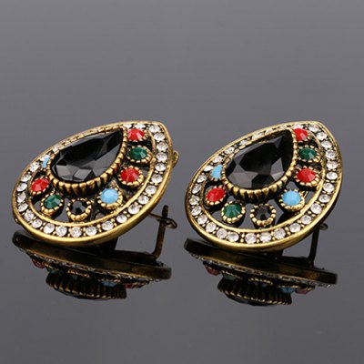 Pair of Chic Rhinestoned Water Drop Hollow Out Earrings For WomenEarrings<br>Pair of Chic Rhinestoned Water Drop Hollow Out Earrings For Women<br><br>Earring Type: Drop Earrings<br>Gender: For Women<br>Style: Trendy<br>Shape/Pattern: Water Drop<br>Length: 3CM<br>Weight: 0.058KG<br>Package Contents: 1 x Earring (Pair)