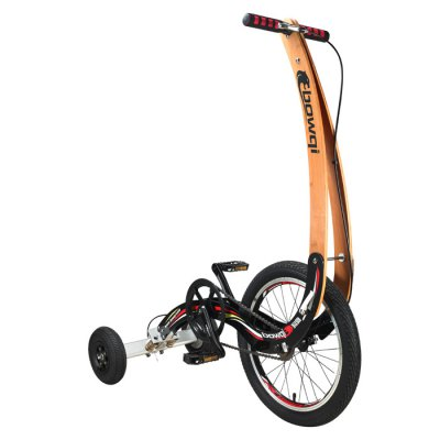 BOWQI 18 Inches Mini No Seat Folding Bike от GearBest.com INT