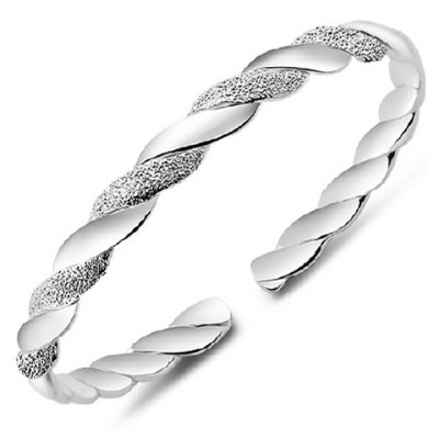 Charming Twisted Cuff Bracelet For Women