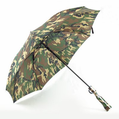 Hot Sale Camouflage Rifle Shape Handle Waterproof UmbrellaHot Sale Camouflage Rifle Shape Handle Waterproof Umbrella<br><br>Control: Semi-Automatic<br>Material: Nylon<br>Diameter(Open): 86CM<br>Panels: 8<br>Weight: 1.260kg<br>Package Contents: 1 x Umbrella