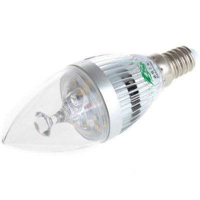 Zweihnder 450Lm E14 5W SMD 2835 LED Candle Lamp