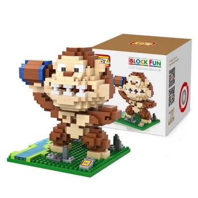 LOZ 480Pcs XL - 9619 Pixel Wars King Kong Building Block Toy for Enhancing Social Cooperation Ability