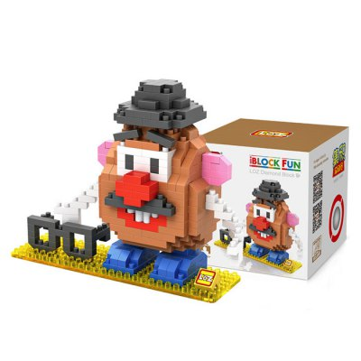 LOZ 340Pcs L - 9505 Toy Story Mr. Potato Head Building Block Toy for Enhancing Social Cooperation Ability