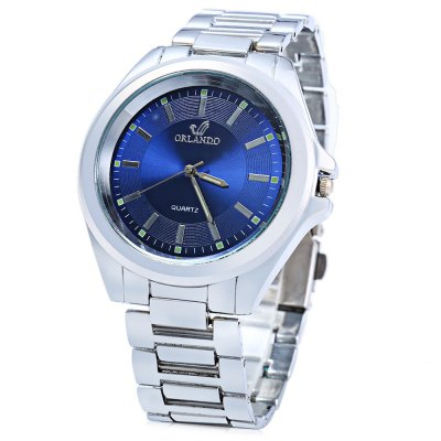ORLANDO 385 Men Quartz Watch with Luminous Pointer