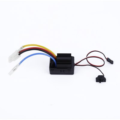 ФОТО Hobbywing Water Resistance 60A Brushless ESC for 1 / 10 1 / 12 Scale RC Car