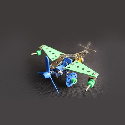 MAIGAO 3D Warplane Alloy / Plastic Intelligent Model Puzzle DIY Toy Collection