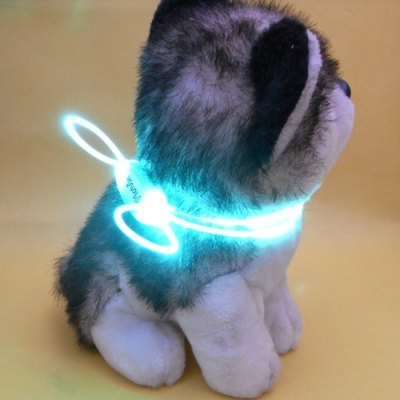 LED Shining Night Safety Dog Collar
