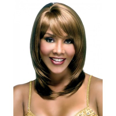 Stunning Elegant Long Side Bang Human Hair Capless Wig For WomenMixed Hair Wigs<br>Stunning Elegant Long Side Bang Human Hair Capless Wig For Women<br><br>Type: Full Wigs<br>Style: Curly<br>Material: Human Hair<br>Bang Type: Full<br>Length: Long<br>Weight: 0.21KG<br>Package Contents: 1 ? Wig