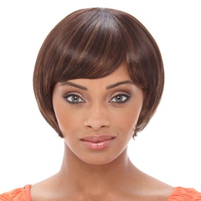 Cute Natural Straight Side Bang Human Hair Short Capless Wig For WomenMixed Hair Wigs<br>Cute Natural Straight Side Bang Human Hair Short Capless Wig For Women<br><br>Type: Full Wigs<br>Style: Straight<br>Material: Human Hair<br>Bang Type: Side<br>Length: Short<br>Weight: 0.16KG<br>Package Contents: 1 ? Wig