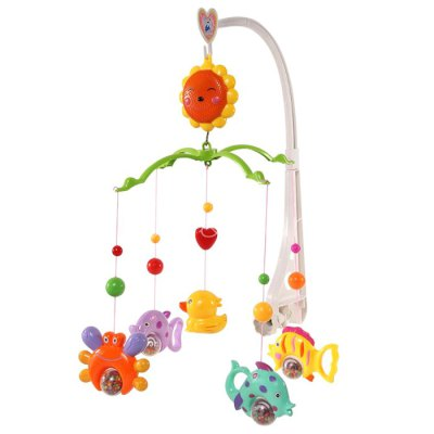 Baby Crib Hanging BellOther Educational Toys<br>Baby Crib Hanging Bell<br><br>Type: Intelligence toys<br>Age: All Ages<br>Material: ABS<br>Design Style: Animal<br>Features: Educational<br>Puzzle Style: Common<br>Small Parts : Yes<br>Washing : No<br>Applicable gender: Unisex<br>Package Weight   : 1 kg<br>Package Size (L x W x H)  : 37 x 24.5 x 6 cm / 14.54 x 9.63 x 2.36 inches<br>Package Contents: 5 x Animal Bell, 1 x Bracket Set