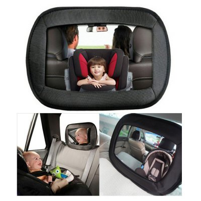 1pc car rear seat headrest baby safety convex mirror car alarms security ariani. Black Bedroom Furniture Sets. Home Design Ideas
