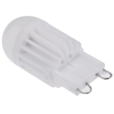 5pcs 5W G9 600LM COB Dimming LED Corn BulbLED Light Bulbs<br>5pcs 5W G9 600LM COB Dimming LED Corn Bulb<br><br>Holder: G9<br>Type: Corn Bulbs<br>Output Power: 5W<br>Emitter Types: COB<br>Total Emitters: 4<br>Luminous Flux: 600Lm<br>CCT/Wavelength: 6000-6500K,2800-3200K<br>Voltage (V): AC 220-240<br>Lifespan: 30000h<br>Features: Low Power Consumption,Long Life Expectancy,Dimming<br>Function: Home Lighting,Commercial Lighting,Studio and Exhibition Lighting<br>Available Light Color: White,Warm White<br>Sheathing Material: Ceramics,Plastic<br>Product weight: 0.012 kg<br>Package weight: 0.085 kg<br>Product size (L x W x H): 4.5 x 1.3 x 1.3 cm / 1.77 x 0.51 x 0.51 inches<br>Package size (L x W x H): 10.5 x 5 x 2.3 cm / 4.13 x 1.97 x 0.90 inches<br>Package Contents: 5 x G9 LED Corn Light