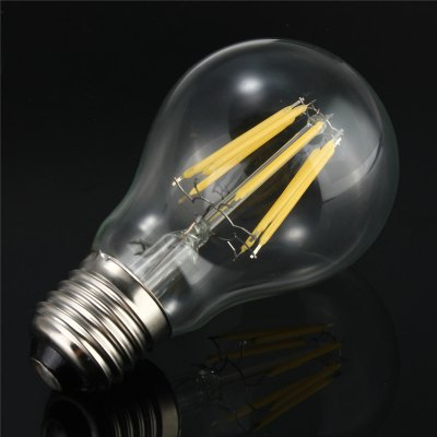 5PCS Huibona 8W E27 800LM COB LED Edison BulbLED Light Bulbs<br>5PCS Huibona 8W E27 800LM COB LED Edison Bulb<br><br>Brand: Huibona<br>Holder: E27<br>Type: Edison Bulb<br>Output Power: 8W<br>Emitter Types: COB<br>Total Emitters: 8<br>Luminous Flux: 800Lm<br>CCT/Wavelength: 3000-3500K,5500-6000K<br>Voltage (V): AC 220<br>Angle: 360 degree<br>Lifespan: 30000h<br>Features: Energy Saving,Long Life Expectancy,Retro Edison Style<br>Function: Home Lighting,Commercial Lighting,Studio and Exhibition Lighting<br>Available Light Color: White,Warm White<br>Sheathing Material: Glass<br>Product weight: 0.150 kg<br>Package weight: 0.200 kg<br>Product size (L x W x H): 25 x 5 x 10 cm / 9.83 x 1.97 x 3.93 inches<br>Package size (L x W x H): 26 x 6 x 11 cm / 10.22 x 2.36 x 4.32 inches<br>Package Contents: 5 x Huibona E27 LED Light Bulb