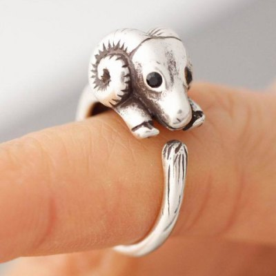 Chic Goat Shape Cuff Ring For WomenRings<br>Chic Goat Shape Cuff Ring For Women<br><br>Gender: For Women<br>Metal Type: Alloy<br>Style: Trendy<br>Shape/Pattern: Animal<br>Diameter: 1.7CM<br>Weight: 0.055KG<br>Package Contents: 1 x Ring