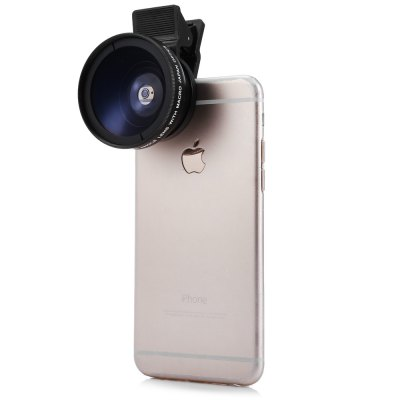 Universal Phone 0.45X Super Wide Angle Lens with Fixture