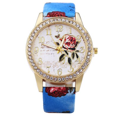 Ladies Quartz WatchWomens Watches<br>Ladies Quartz Watch<br><br>Watches categories: Female table<br>Style: Diamond<br>Movement type: Quartz watch<br>Shape of the dial: Round<br>Display type: Analog<br>Case material: Alloy<br>Band material: Leather<br>Clasp type: Pin buckle<br>Water resistance : Life water resistant<br>The dial thickness: 0.9 cm / 0.35 inches<br>The dial diameter: 4 cm / 1.57 inches<br>The band width: 2 cm / 0.79 inches<br>Wearable length: 18.5 - 22 cm / 7.28 - 8.66 inches<br>Product weight: 0.036 kg<br>Package weight: 0.096 kg<br>Product size (L x W x H) : 24.5 x 4 x 0.9 cm / 9.63 x 1.57 x 0.35 inches<br>Package size (L x W x H): 25.5 x 5 x 1.9 cm / 10.02 x 1.97 x 0.75 inches<br>Package contents: 1 x Ladies Quartz Watch