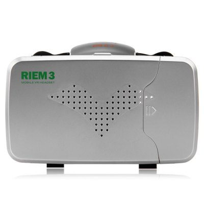 RITECH Riem III VR 3D GlassesVirtual Reality<br>RITECH Riem III VR 3D Glasses<br><br>Brand: RITECH<br>Model: Riem III<br>VR Glasses Type: VR Glasses<br>Compatible with : Smartphones<br>Material: Glass, Foam, ABS<br>Color: White, Black<br>Smartphone Compatibility: 3.5 - 6.0 inch<br>Product Weight : 0.226 kg<br>Package Weight : 0.4 kg<br>Product Size (L x W x H): 17.4 x 14.2 x 10.4 cm / 6.84 x 5.58 x 4.09 inches<br>Package Size (L x W x H): 20 x 16 x 12 cm / 7.86 x 6.29 x 4.72 inches<br>Package Contents: 1 x RITECH Riem 3 Virtual Reality 3D VR Glasses, 2 x Shutter Bar, 1 x English / Chinese User Manual
