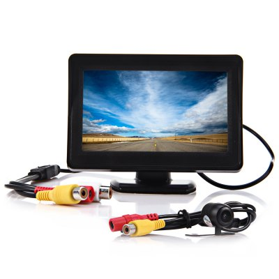 4.3 Inch Car Rear View Monitor Camera