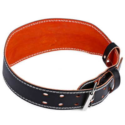 Cow Split Leather Weight Lifting Thick Belt