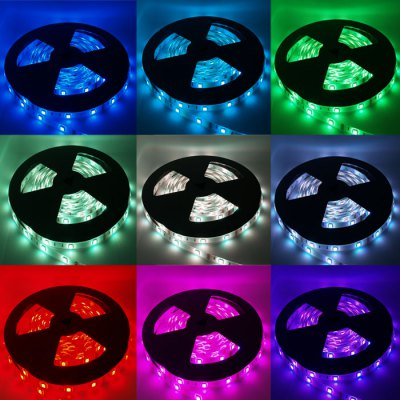 5M 60x SMD 5050 72W Waterproof RGB LED Strip Light