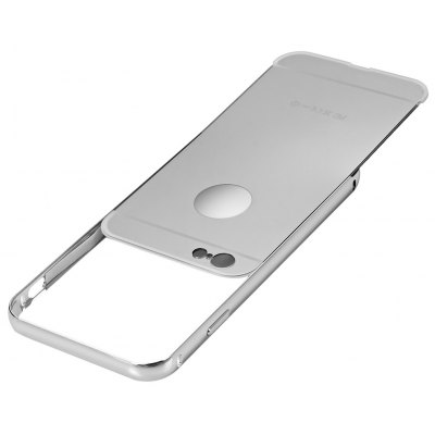 2 in 1 Metal Frame Mirror Cover Case for iPhone 6 6s