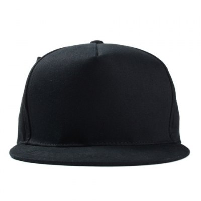 Chic Double-Deck Big Bow Embellished Black Baseball Cap For Women