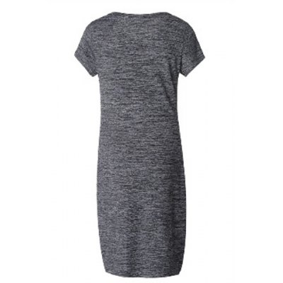 Stylish Short Sleeve Round Neck Letter Dress For WomenWomens Dresses<br>Stylish Short Sleeve Round Neck Letter Dress For Women<br><br>Style: Brief<br>Material: Polyester<br>Silhouette: Sheath<br>Dresses Length: Knee-Length<br>Neckline: Round Collar<br>Sleeve Length: Short Sleeves<br>Pattern Type: Letter<br>With Belt: No<br>Season: Summer<br>Weight: 0.226KG<br>Package Contents: 1 x Dress