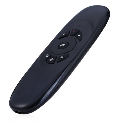 Flymote C120 2.4GHz Wireless Air Mouse with QWERTY Keyboard / Remote Control Function for Android Windows Linux Mac