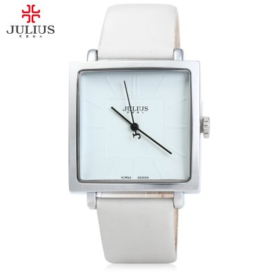 Julius JA - 354 Ultrathin Square Dial Analog Unisex Quartz Watch