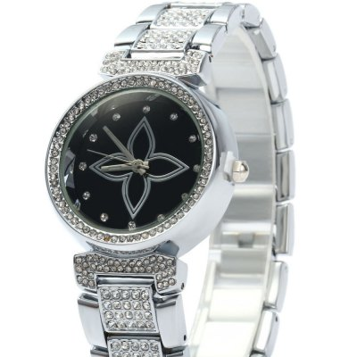WeiQin W4815 Female Quartz WatchWomens Watches<br>WeiQin W4815 Female Quartz Watch<br><br>Watches categories: Female table<br>Available color: Black,Gold,White<br>Style: Diamond<br>Movement type: Quartz watch<br>Shape of the dial: Round<br>Display type: Analog<br>Case material: Alloy<br>Band material: Alloys<br>Clasp type: Folding clasp with safety<br>Water resistance : Life water resistant<br>The dial thickness: 0.8 cm / 0.31 inches<br>The dial diameter: 3 cm / 1.18 inches<br>The band width: 1.6 cm / 0.63 inches<br>Product weight: 0.077 kg<br>Package weight: 0.147 kg<br>Product size (L x W x H): 20.00 x 3.00 x 0.80 cm / 7.87 x 1.18 x 0.31 inches<br>Package size (L x W x H): 22.00 x 5.00 x 2.80 cm / 8.66 x 1.97 x 1.1 inches<br>Package Contents: 1 x WeiQin W4815 Ladies Rhinestone Quartz Watch
