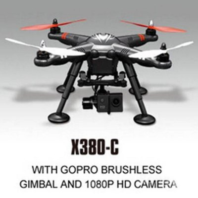 ФОТО XK X380 - C Aerial Photography RC Quadcopter RTF