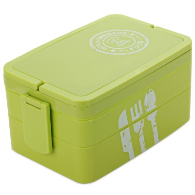 Protable Three-layer Lunch Box