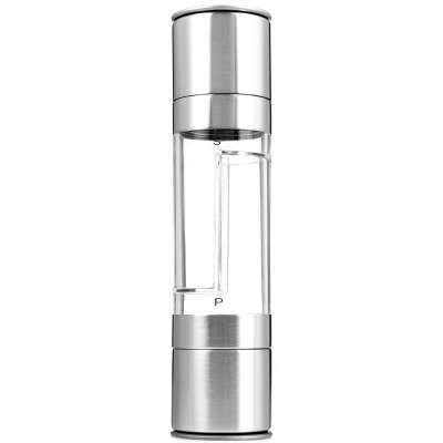 2 in 1 Stainless Steel Manual Spice Grinder