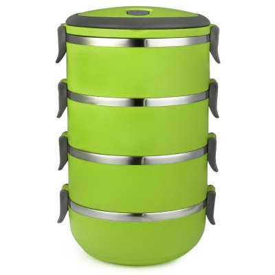 ФОТО 2.8L Portable Stainless Steel Lunch Box
