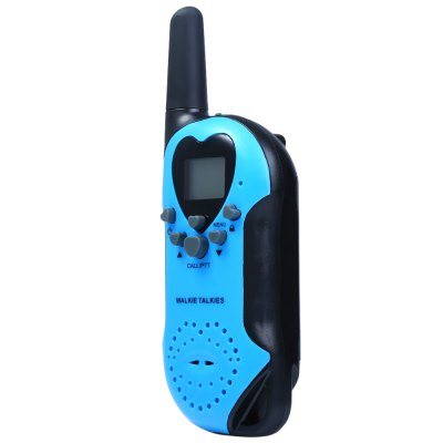 T5 2pcs 22 Channel UHF Walkie Talkie with LCD ScreenWalkie Talkies<br>T5 2pcs 22 Channel UHF Walkie Talkie with LCD Screen<br><br>Model Number: T5<br>Frequency Bands: UHF<br>Channels: 20 to 39 Channel<br>Selectable Channel : 22 Channels<br>Product weight: 0.076 kg<br>Package weight: 0.220 kg<br>Product Dimension: 15 x 5 x 4 cm / 5.90 x 1.97 x 1.57 inches<br>Package Dimension: 19.5 x 9 x 7.5 cm / 7.66 x 3.54 x 2.95 inches<br>Package Contents: 2 x T5 Walkie Talkie, 1 x Chinese-English User Manual