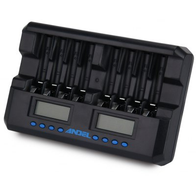 ANDEL 8 Slots Smart Charger