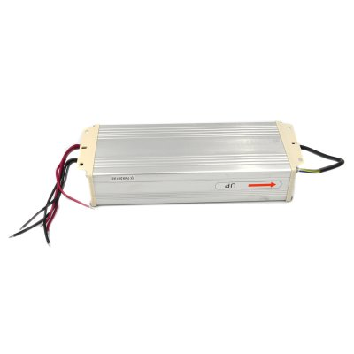 DC 24V 600W 25A Rainproof LED Power SupplyLED Accessories<br>DC 24V 600W 25A Rainproof LED Power Supply<br><br>Accessory type: Power Supply<br>Features: Waterproof<br>Input Voltage: AC 170-250V<br>Output Voltage: DC 24V<br>Output Power: 600W<br>Output Current: 25A<br>Available color: Silver<br>Material: Aluminum Alloy<br>Certification: CE,RoHs,FCC<br>Product weight: 1.117 kg<br>Package weight: 1.237 kg<br>Product size (L x W x H): 29.5 x 11.3 x 5.7 cm / 11.59 x 4.44 x 2.24 inches<br>Package size (L x W x H): 33.6 x 12.3 x 6.7 cm / 13.20 x 4.83 x 2.63 inches<br>Package Contents: 1 x LED Power Supply