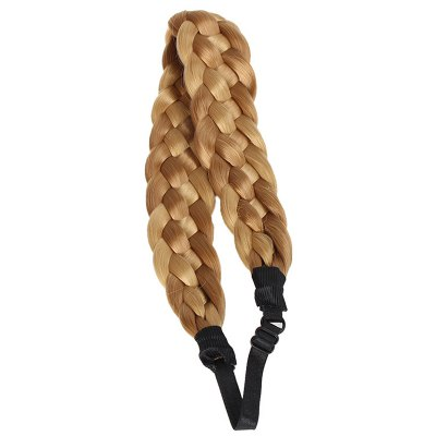 Heat Resistant Fiber Braided Hair Extensions