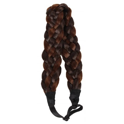 Attractive Braided Hair High Temperature Fiber Extensions For Women