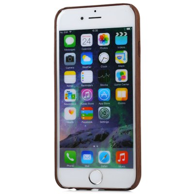 ASLING Wood Pattern Soft Protective Case for iPhone 6 / 6S