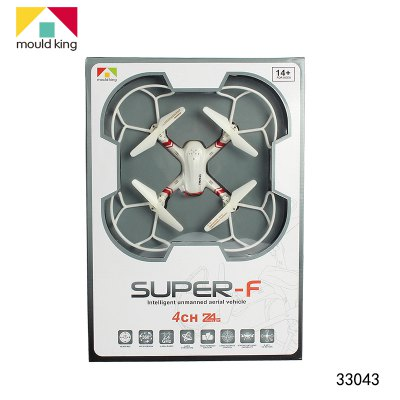 ФОТО Mould King 33043 SUPER - F RC Quadcopter