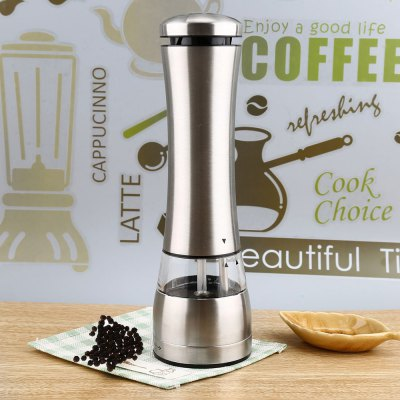 Electric Stainless Steel Pepper Salt Mill