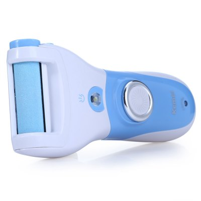 KEMEI KM-2503 Electric Pedicure MachineSkin Care<br>KEMEI KM-2503 Electric Pedicure Machine<br><br>Type: Electric<br>Color: Blue<br>Application: Foot<br>Product weight: 0.136 kg<br>Package weight: 0.352 kg<br>Product size (L x W x H): 14.85 x 6.40 x 3.50 cm / 5.84 x 2.52 x 1.38 inches<br>Package size (L x W x H): 20.00 x 18.50 x 5.60 cm / 7.86 x 7.27 x 2.20 inches<br>Package Contents: 1 x KEMEI KM-2503 Rechargeable Electric Callus Remover Pedicure Foot File, 1 x Replaceable Roller, 1 x Adapter, 1 x Cleaning Brush, 1 x Bilingual User Manual in English and Chinese