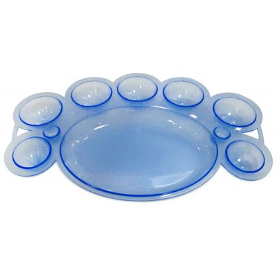 Cute Solid Color Multiduty Nail Tray Palette
