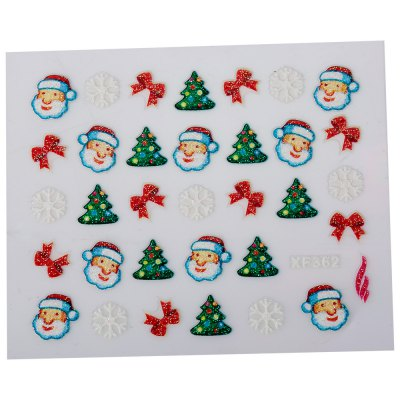 Fashionable Art Decorations Christmas Gift Girls 3D Nail StickersNail Sticker<br>Fashionable Art Decorations Christmas Gift Girls 3D Nail Stickers<br><br>Category: Nail Sticker<br>Style: Charming<br>Features: Easy to Carry<br>Season: All seasons<br>Occasion: Holiday<br>Application: Hand<br>Package weight: 0.005 kg<br>Package size (L x W x H): 5.00 x 4.00 x 0.10 cm / 1.97 x 1.57 x 0.04 inches<br>Package Contents: 1 x Nail Sticker